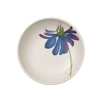 Artesano Flower Art flat bowl