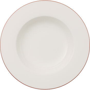 Anmut Rosewood soup plate