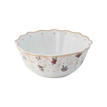 Toy's Delight bowl, anniversary edition, multicoloured/gold/white, 506 ml
