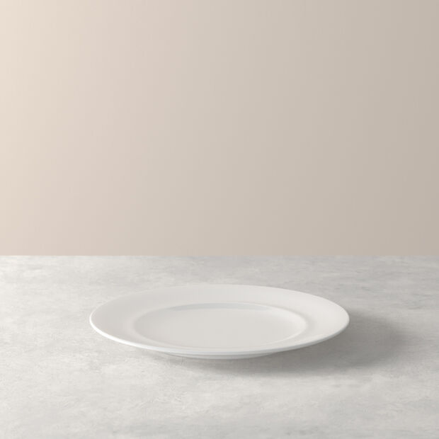 NEO White breakfast plate 21x21x2cm, , large