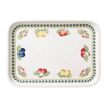 French Garden baking dishes Serving dish / Rectangular Cover 36x26cm