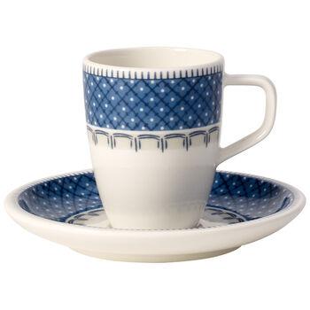 Casale Blu 2-piece mocha/espresso set