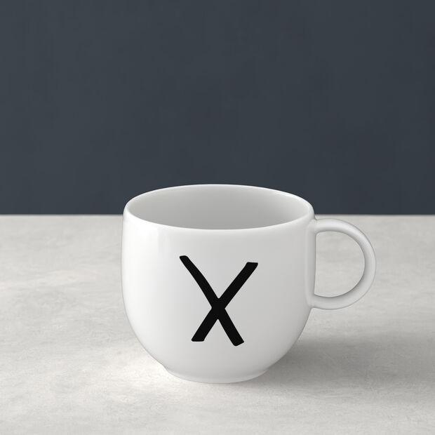 Letters Mug X 13x10x8cm, , large