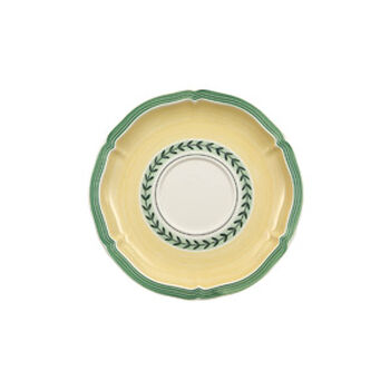 French Garden Fleurence cappuccino cup saucer