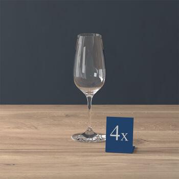 Entrée Champagne flute Set 4 pcs 205mm