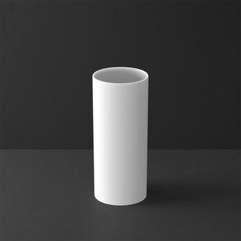 MetroChic blanc Gifts Vase tall 13x13x30,5cm