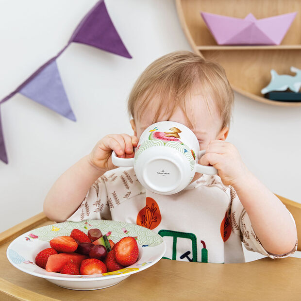 Hungry as a Bear Children mug with 2 handles 140x80x70mm, , large