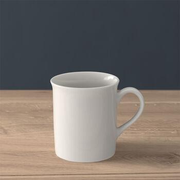 Twist White coffee mug