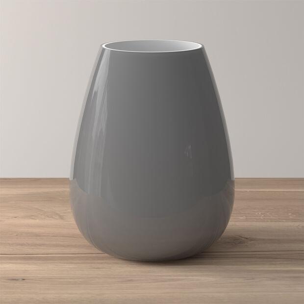Drop large vase Pure Stone, , large