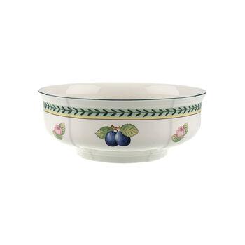 French Garden Fleurence round salad bowl