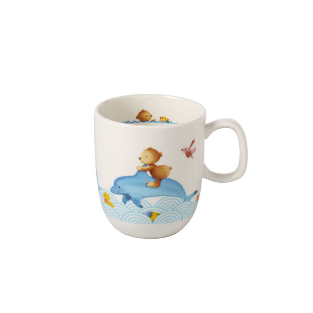 Happy as a Bear Children mug with 1 handle large 110x80x93mm, , large