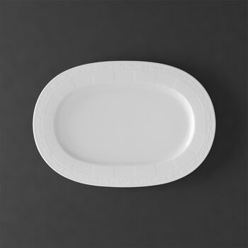 White Pearl oval plate 41 cm