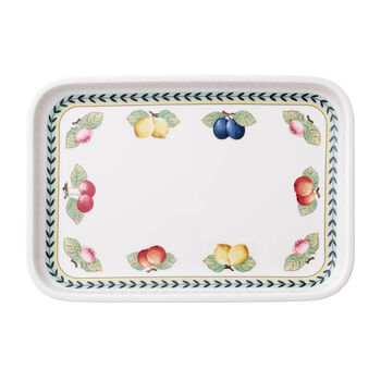 French Garden baking dishes Serving dish / Rectangular Cover 32x22cm