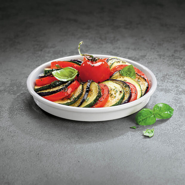 Clever Cooking round serving plate 17 cm, , large