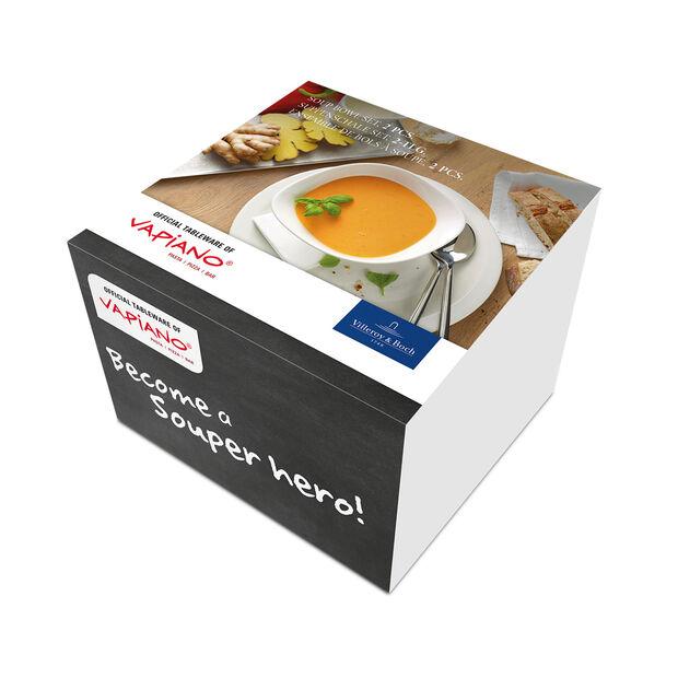 Vapiano soup bowl 2-piece set, , large