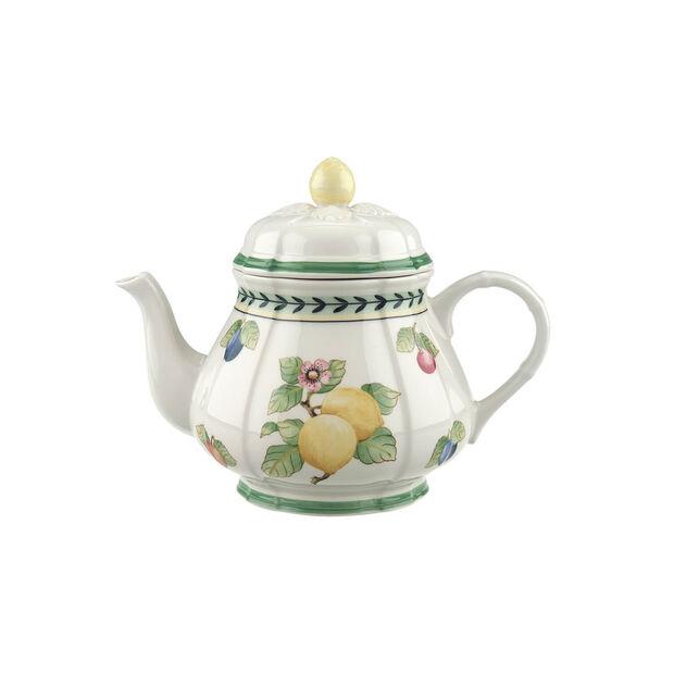 French Garden Fleurence teapot, , large