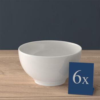 Twist White bowl, 650 ml, 6 pieces