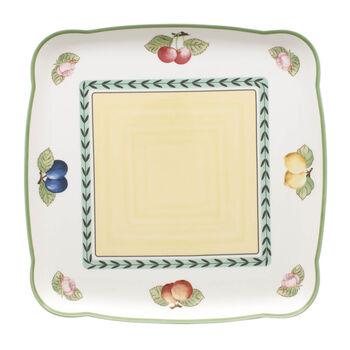 Charm & Breakfast French Garden Square platter 30cm