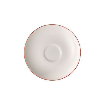 Anmut Rosewood coffee cup saucer