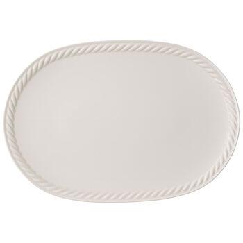 Montauk oval plate