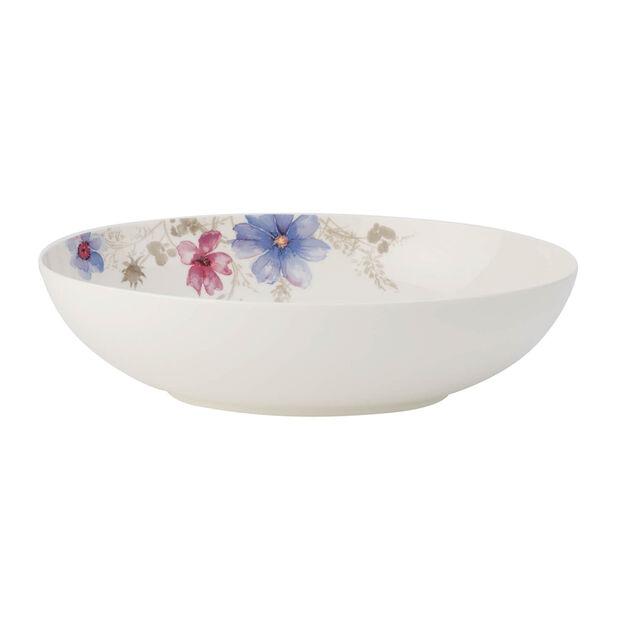 Mariefleur Gris Basic oval serving bowl, , large
