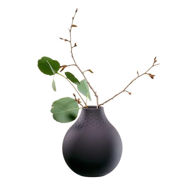 Manufacture Collier noir Vase Perle small 11x11x12cm, , large