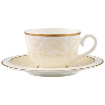 Ivoire Coffee/tea cup & saucer 2pcs