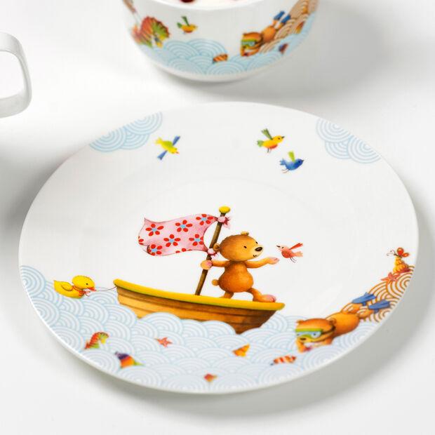Happy as a Bear Children flat plate 21,5x21,5x1,5cm, , large