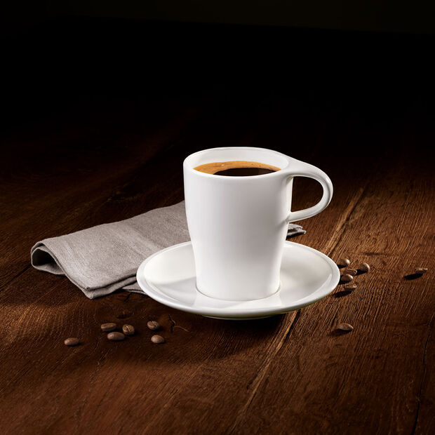Coffee Passion coffee mug & saucer, , large