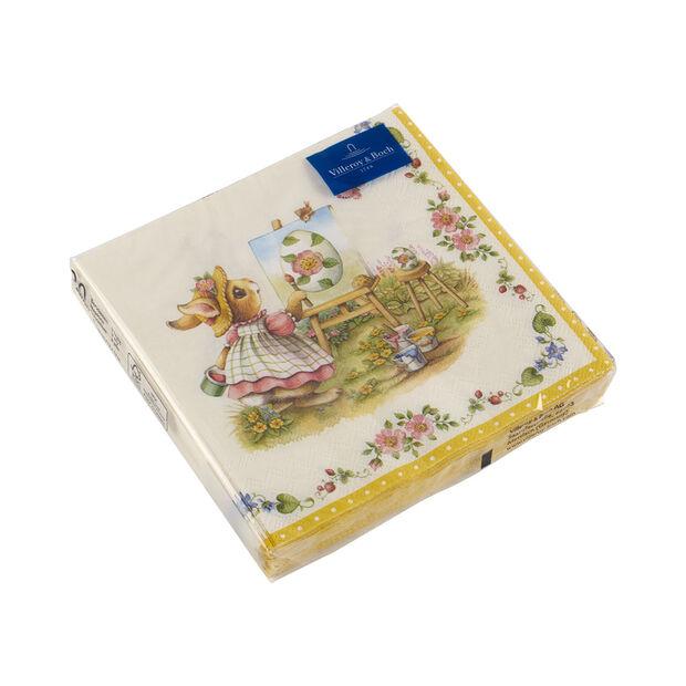 Spring Fantasy napkins, bunnies, 33 x 33 cm, 20 pieces, , large