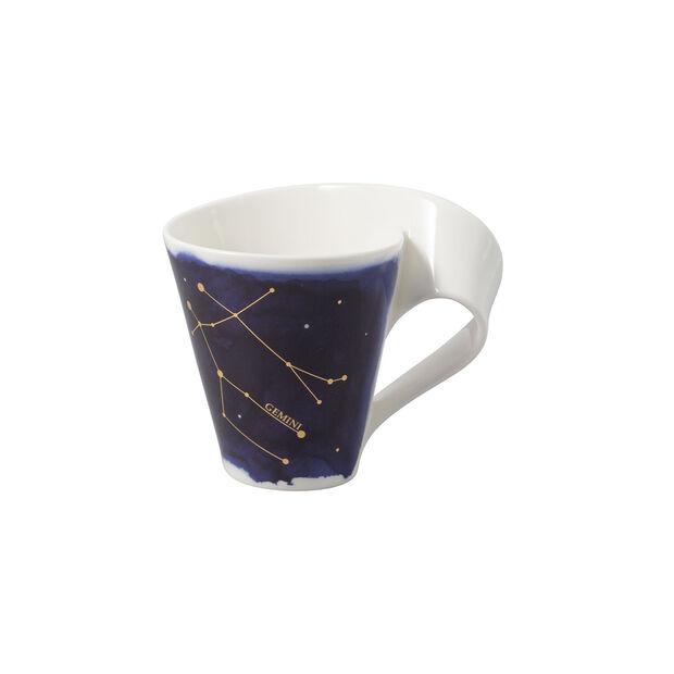 NewWave Stars mug Gemini, 300 ml, blue/white, , large