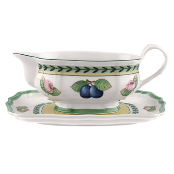 French Garden Fleurence sauce boat 2 pieces