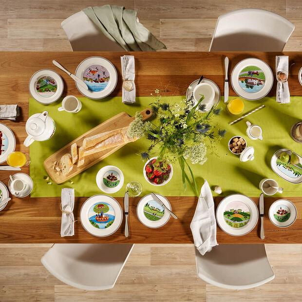 Design Naif breakfast plate Huntsman, , large