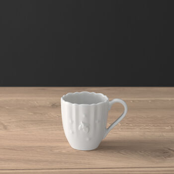 Toy's Delight Royal Classic mocha/espresso cup, white, 90 ml