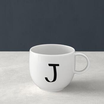Letters Mug J 13x10x8cm