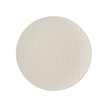 Manufacture Rock Blanc coupe universal plate, 25 cm