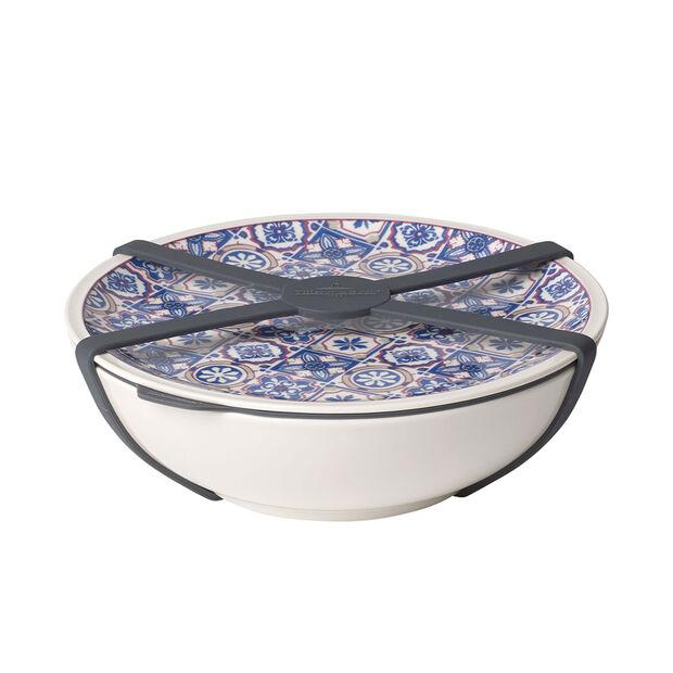 Modern Dining To Go Indigo bowl L, , large