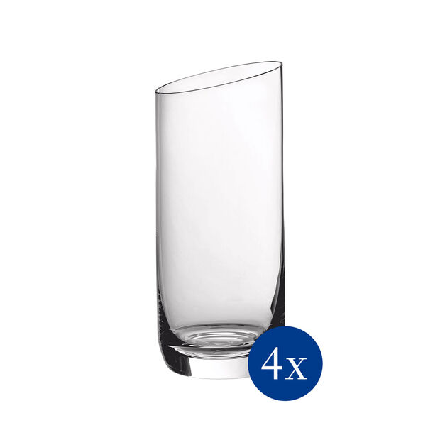 NewMoon long drink glass set, 370 ml, 4 pieces, , large