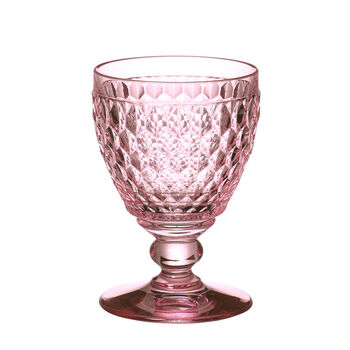 Boston Coloured Red wine glass Pink