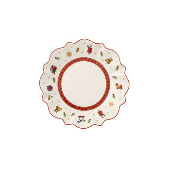 Toy's Delight white bread plate