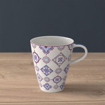 Modern Dining coffee mug, indigo caro