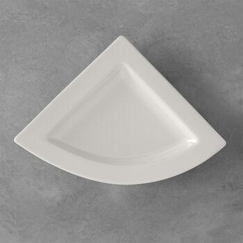 NewWave triangular dinner plate