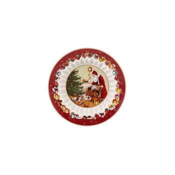 Toy's Fantasy Bowl large, Santa brings gifts 25x25x5cm