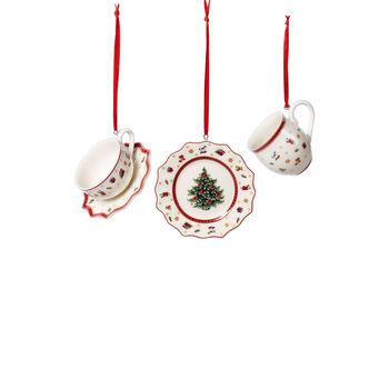 Toy's Delight Decoration Ornaments Tablewareset 3pcs. 6,3cm