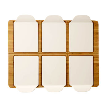Pizza Passion rectangular party plate