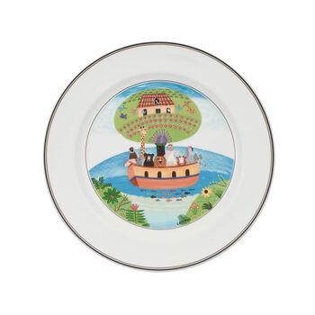 Design Naif dinner plate Noah's ark
