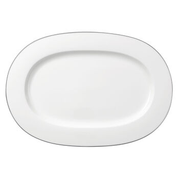 Anmut Platinum No.1 oval plat 41 cm