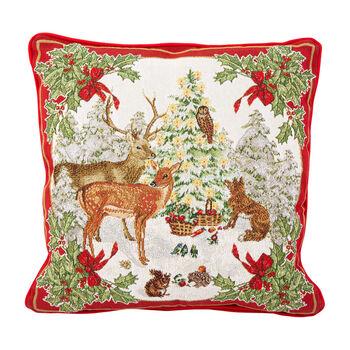 Toy's Fantasy Gobelin cushion, multicoloured, 45 x 45 cm