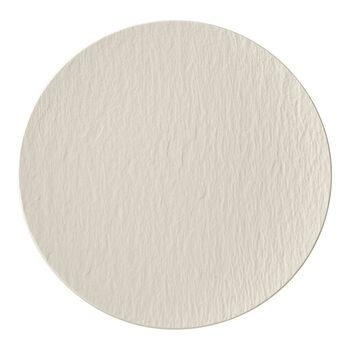 Manufacture Rock blanc Gourmet plate 31,5x31,5x2,5cm