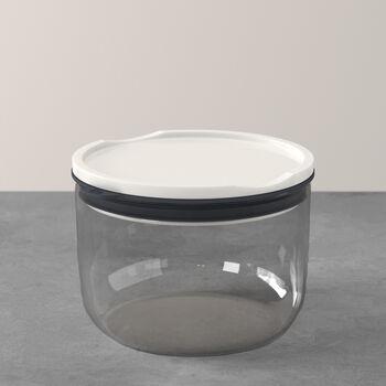 ToGo&ToStay lunch box, 13 x 9.5 cm, round, grey